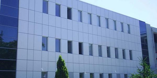 aluminum composite panel buildings. Black Bedroom Furniture Sets. Home Design Ideas